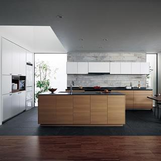 写真:システムキッチン