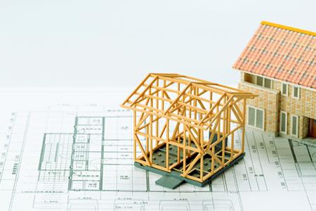 写真:家の模型