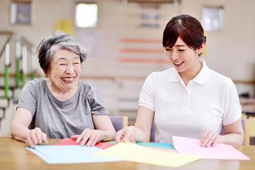 写真:老人福祉施設
